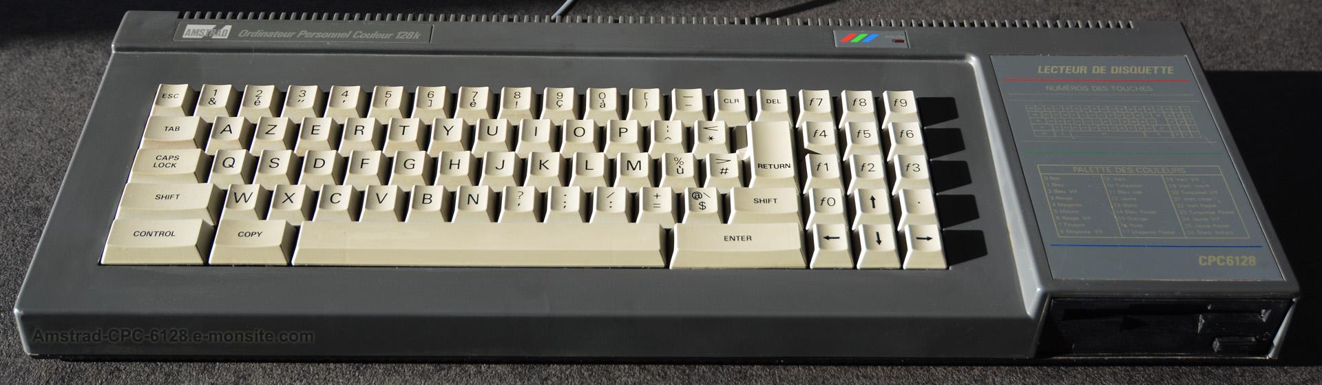 Amstrad CPC 6128 nettoyé !